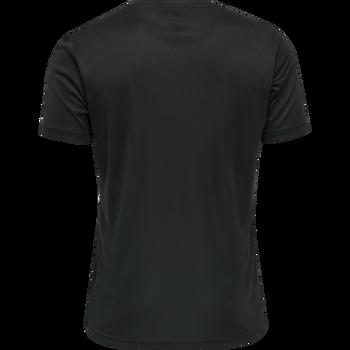MEN CORE FUNCTIONAL T-SHIRT S/S, BLACK, packshot