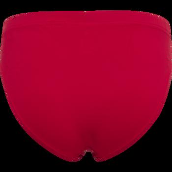 WOMEN CORE ATHLETIC BRIEF, TANGO RED, packshot