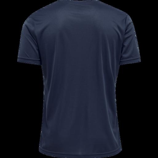 MEN CORE FUNCTIONAL T-SHIRT S/S, BLACK IRIS, packshot